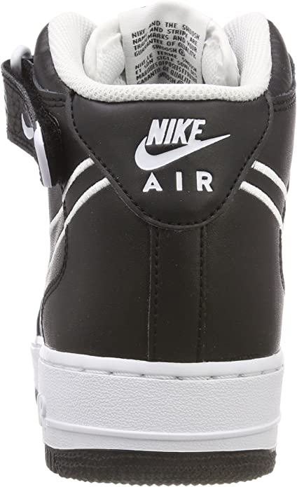 Scarpe NIKE Air Force 1 Mid '07 Lthr AQ8650 001 Black