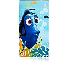 Character World 1448 Dory Serviette de Plage Coton Bleu 150 x 75 cm