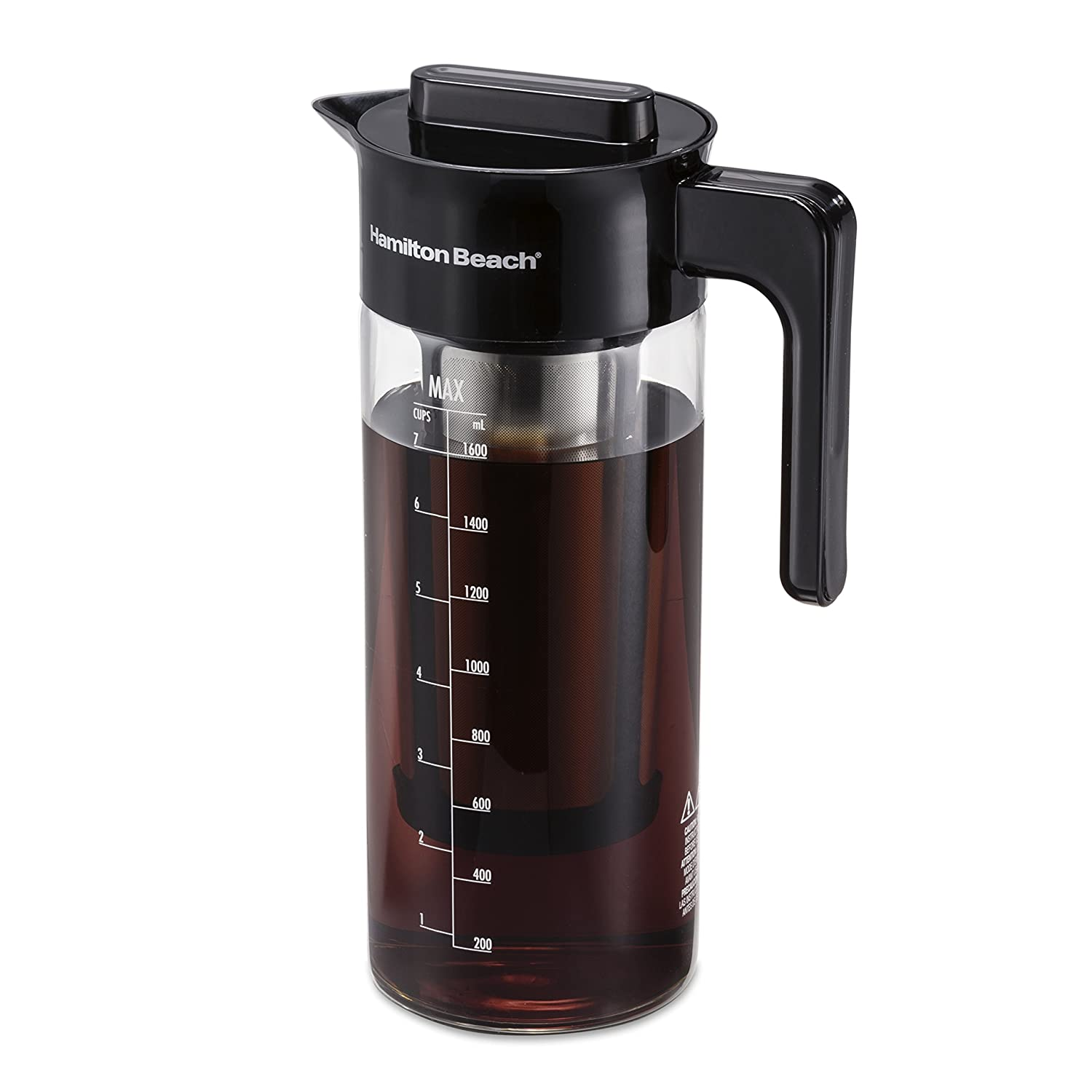 Hamilton Beach 40405R Cold Brew Coffee Maker 57 oz/1.7 L