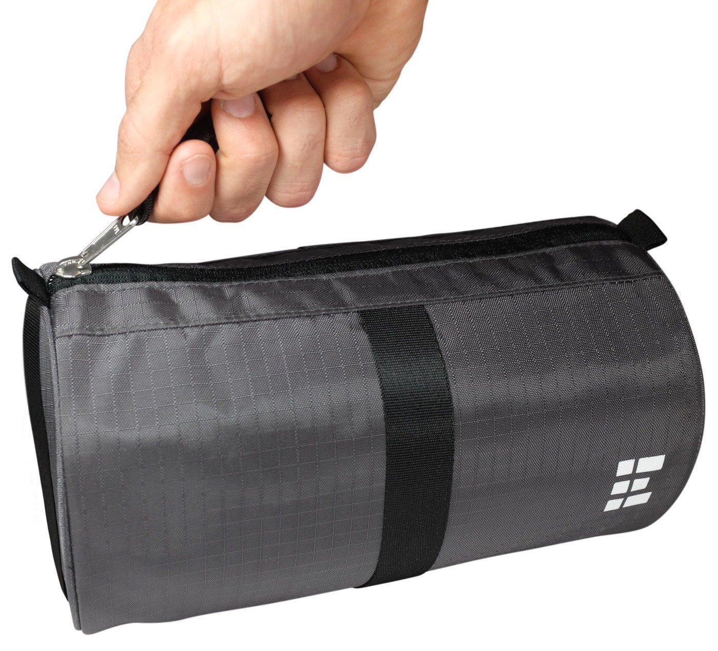 Zero Grid Travel Dopp Bag - Toiletry Kit for Men, Shadow