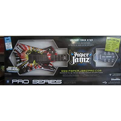 Paper Jamz Pro Guitar Series - Style 1: Toys & Games