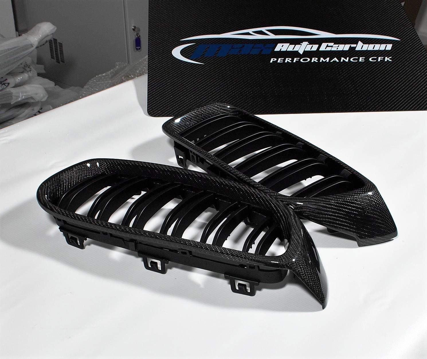 Max Auto Carbon Matt Front Grill Nieren Passend 4er F32 F33 F36 M3 M4 F80 F82 F83 Auto