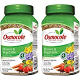 Osmocote 277160 Flower and Vegetable Smart-Release Plant Food, 14-14-14, 1-Pound Bottle (Тwo Рack)