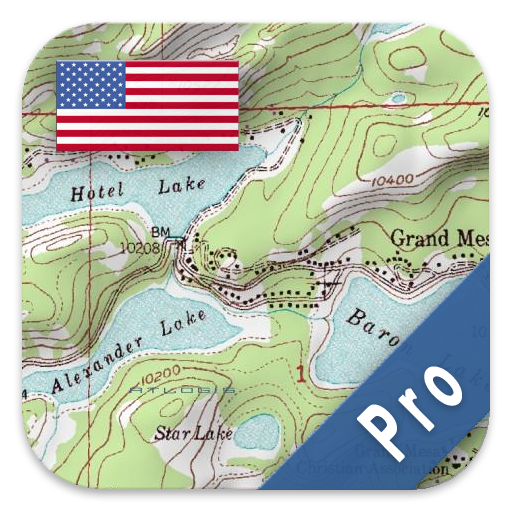 Backcountry Trips - US Topo Maps Pro