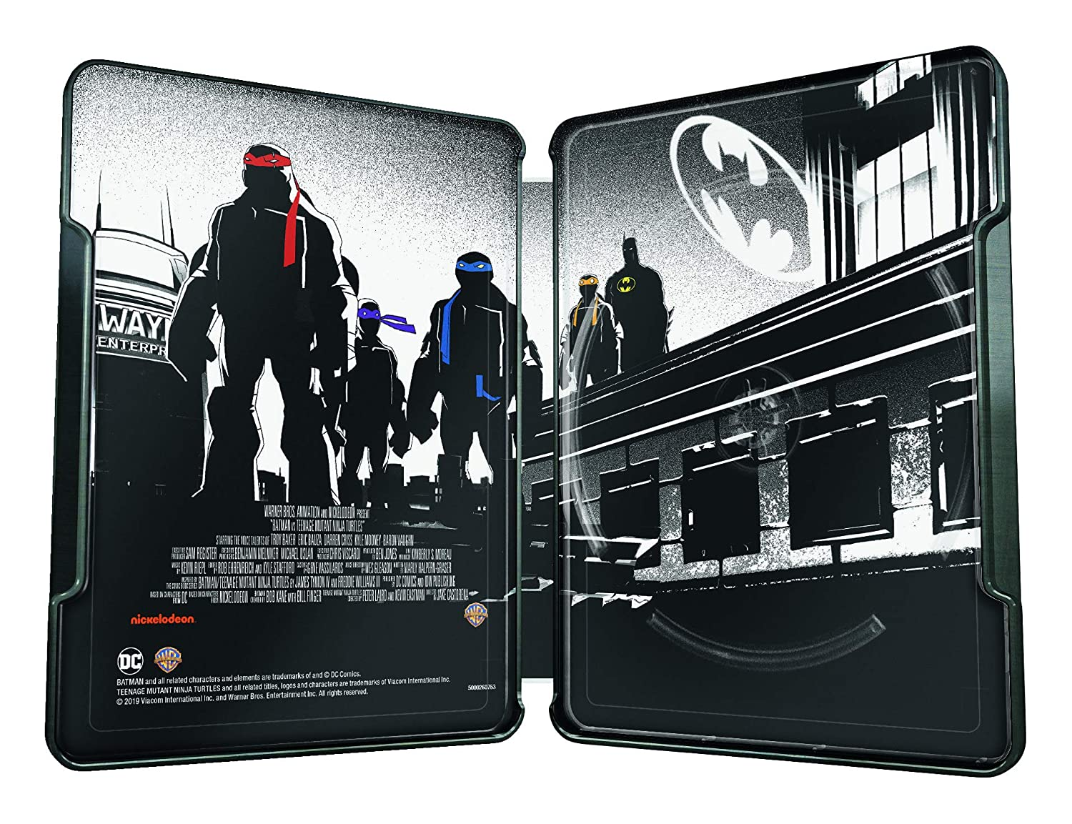 Batman/Teenage Mutant Ninja Turtles Steelbook Edizione ...
