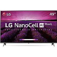 "Smart TV 49"" 49SM8000PSA LG 4K HDR Ativo NanoCell Inteligência Artificial ThinQ AI DTS Virtual: X e Painel IPS"