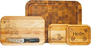 product image for Catskill Craftsmen The Gift Set of 4 Boards, Assorted Sizes