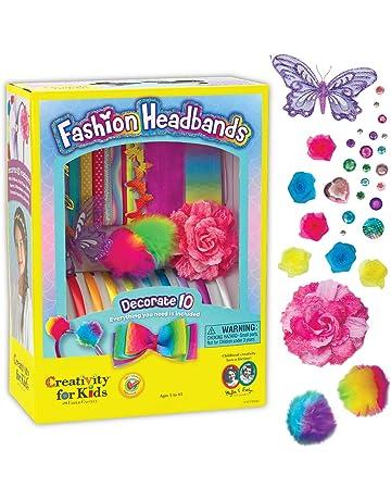 85e535ef2 Creativity for Kids F901819 West Design Junior Selection Fashion Headbands  Large Kit, Multi-Color