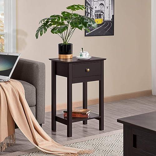 Best modern nightstand: Yaheetech Nightstands Bedside Table Cabinet