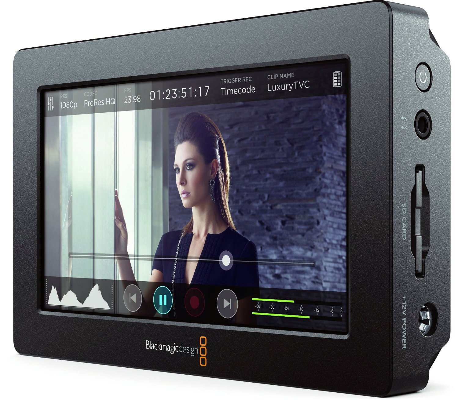 Blackmagic Design Video Assist HDMI/6G-SDI Recorder by Blackmagic Design
