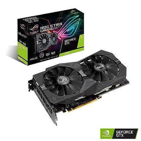 ASUS ROG Strix GeForce GTX 1650 Overclocked 4GB Edition VR Ready HDMI 2.0 DP 1.4 Gaming Graphics Card (ROG-STRIX-GTX1650-O4G-GAMING)