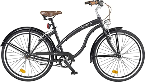 CICLI CLORIA Milano Bicicleta Loreto Negro: Amazon.es: Deportes ...