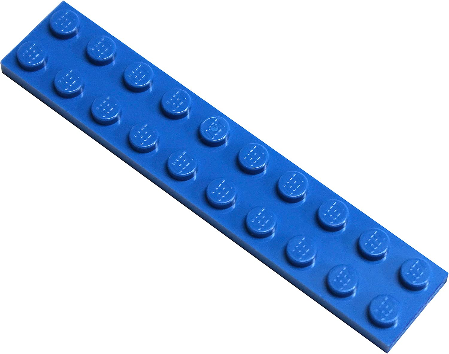 LEGO Parts and Pieces: Blue (Bright Blue) 2x10 Plate x50
