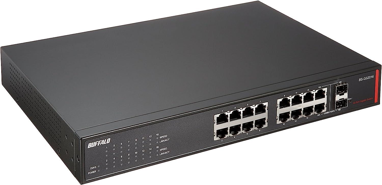 BUFFALO 16ポート BS-GS2016