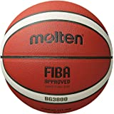 Molten BG Series FIBA Approved Basketball (B7G3800) Composite Leather - Indoor/Outdoor Size 7