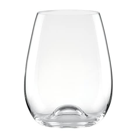d3c59fca590 Amazon.com: Lenox Tuscany Classic Stemless Wine Glasses (Set of 6): Kitchen  & Dining