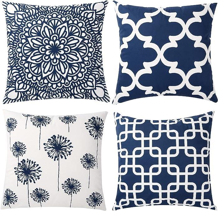 Top 10 Blue Ridge Home Fashions Down Pillow Jumbo