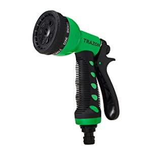 Trazon Garden Hose Nozzle Heavy Duty High Pressure