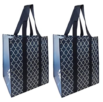 Amazon.com: Reusable Grocery Shopping Bags by The Buti-Bag Company ...