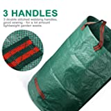 2-Pack 32 Gallons Garden Bag,Collapsible and
