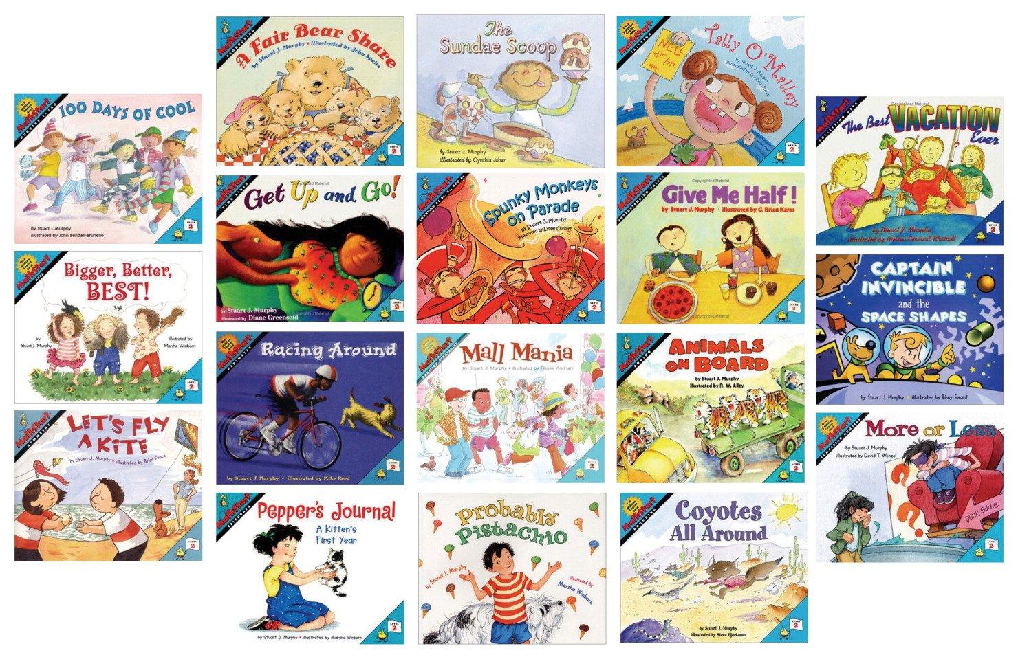 MathStart Book Set, Grades 2 - 4, Set of 18