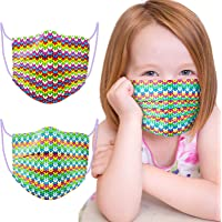 60PCS Kids' Disposable Fashion Face Masks Individually Sealed 3-Ply Protective Covering Seamless Knitted Wool Sweater…