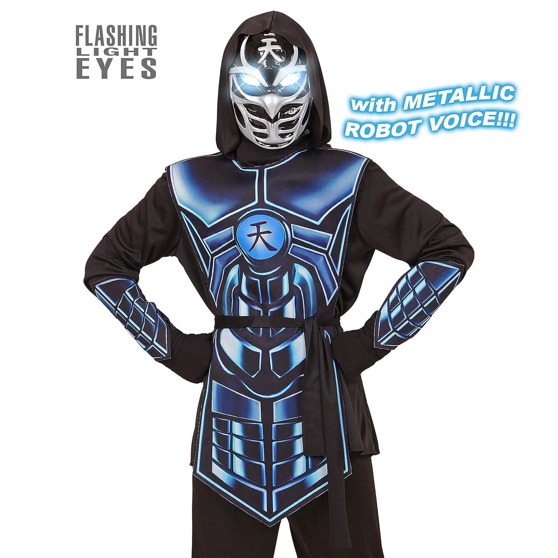 WIDMANN 07918 infantil Disfraz cyber Ninja, Small: Amazon.es ...