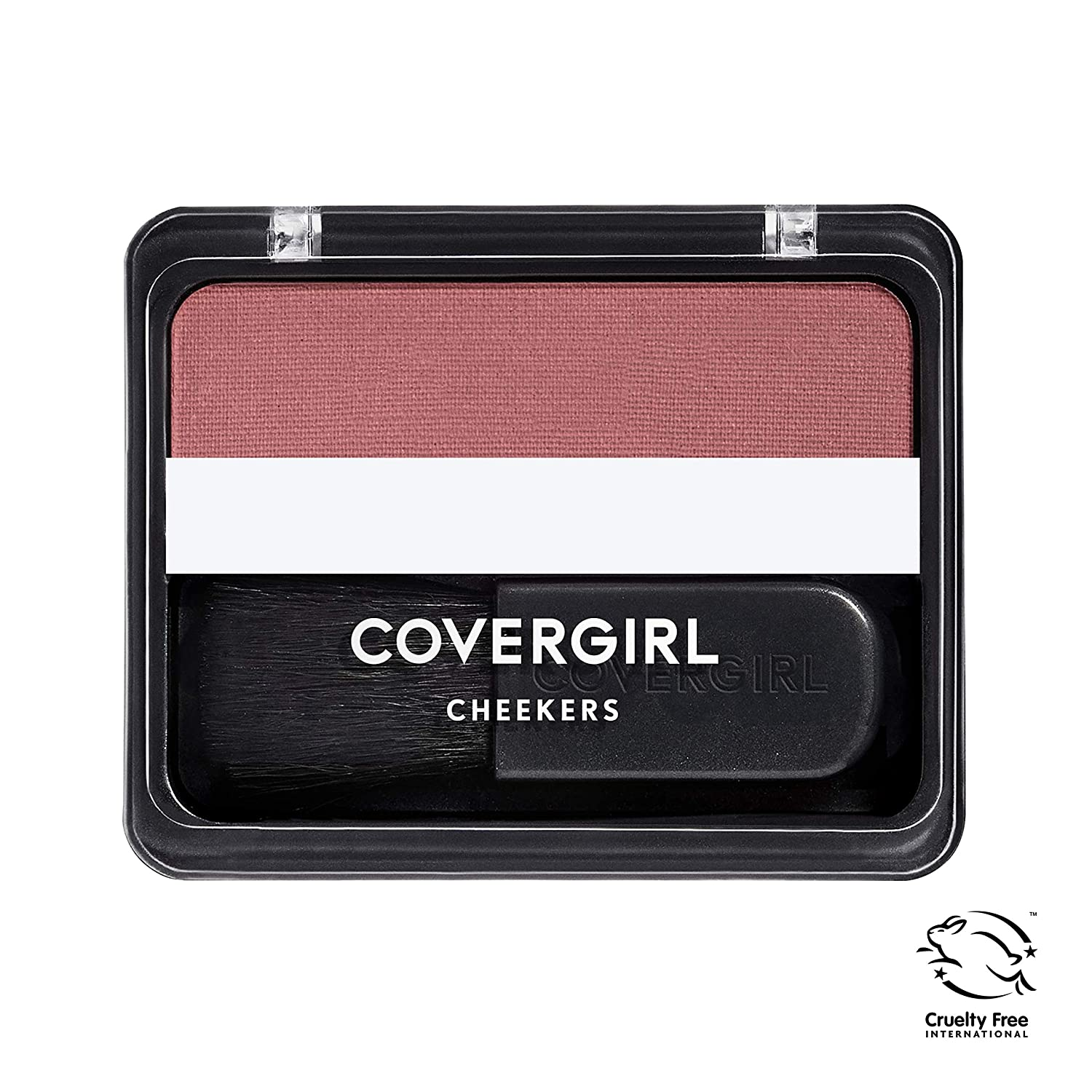 COVERGIRL Cheekers Blendable Powder Blush Rock 'n Rose, .12 oz (packaging may vary), 1 Count