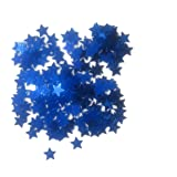 WGI Star Confetti 14 grams - Blue (6 packs)