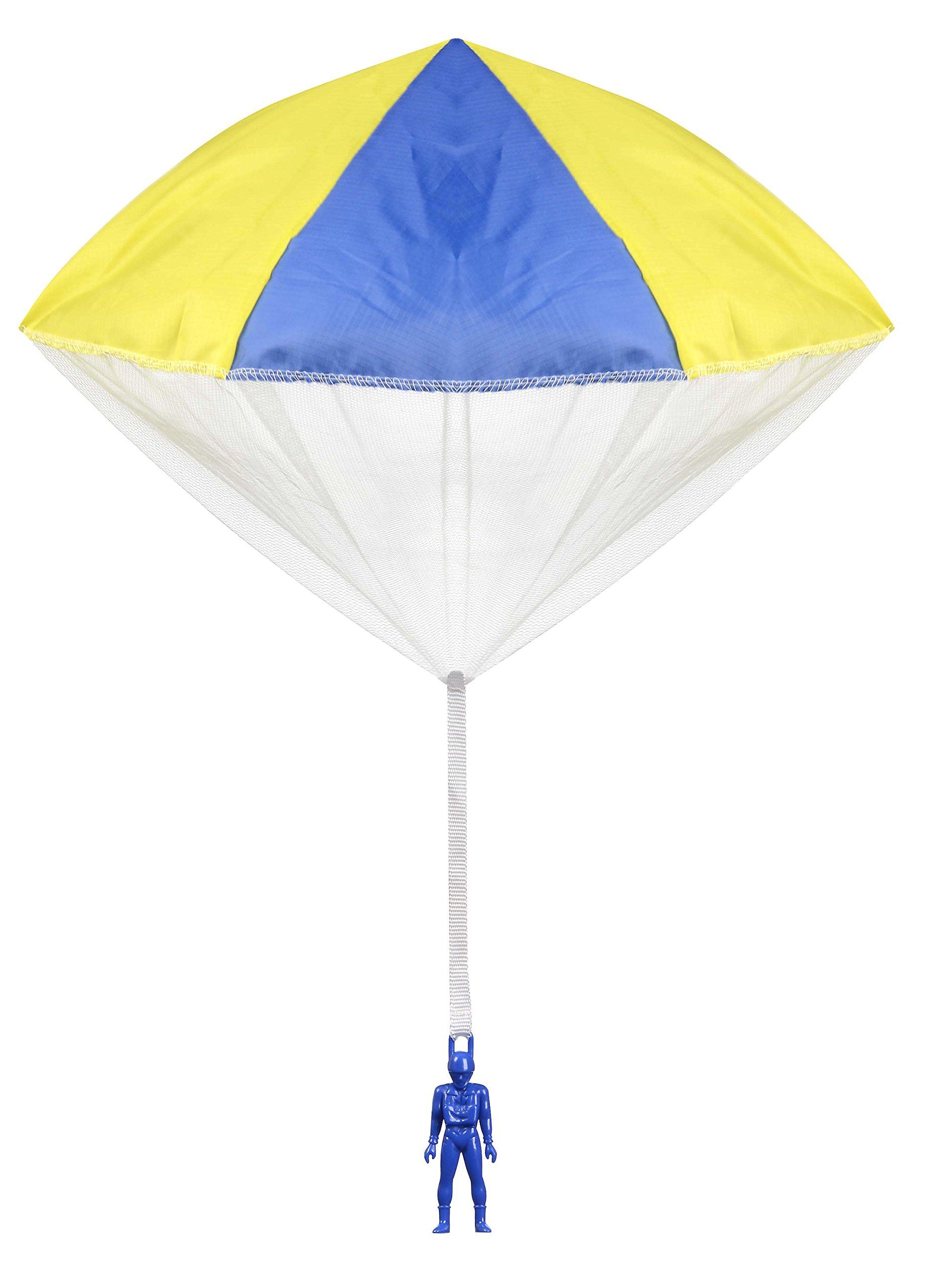 Aeromax Tangle Free Parachute Toy Party Pack (6 Piece Bundle)