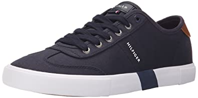 Tommy hilfiger mens pandora sneaker blue 11 uk amazon tommy hilfiger mens pandora sneaker navy publicscrutiny Choice Image