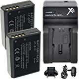 LP-E10 Battery (2) Extended Life Li-Ion Batteries for Canon EOS