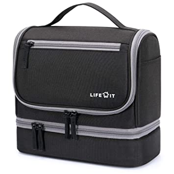 024d83da073a Amazon.com   Lifewit Hanging Toiletry Bag Large Waterproof Cosmetic Makeup  Travel Organizer Dop Kit for Men or Women