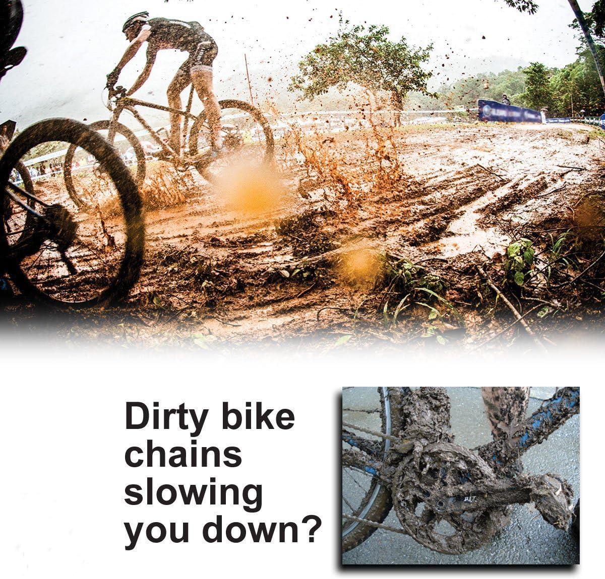 Veriya Kit para limpieza de cadena de bicicleta fácil y rápida ...