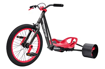 bike rassine notorious drift trike gray frame with red trim - Drift Trike Frame