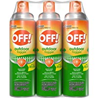 Wooden OFF Backyard Pretreat Outdoor Fogger, 16 Ounces - 3 Pack