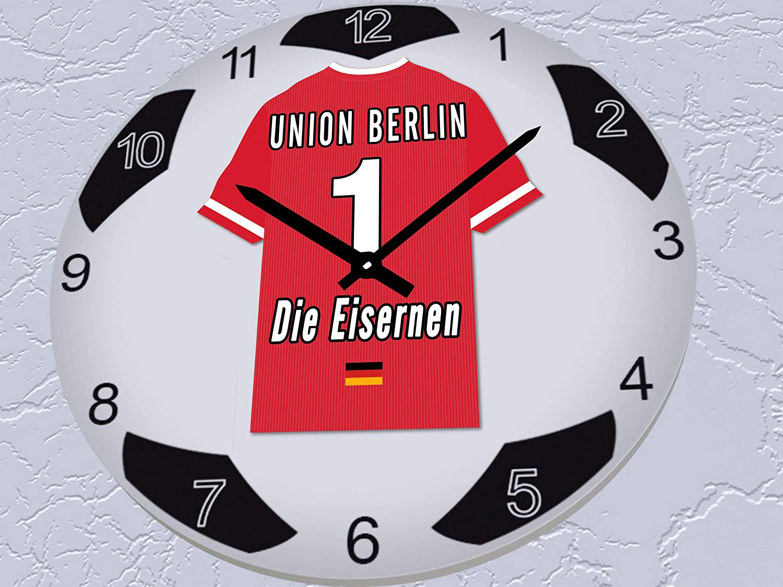 ! Fu/ßball-Uhren-Design alle Teams FanPlastic Germany 2 Bundgliga Fu/ßball-Uhr