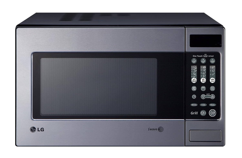 LG MH6043ZLT - Microondas, 700 W, color gris: Amazon.es: Hogar