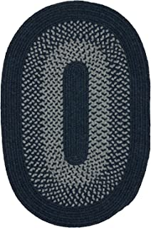 product image for Madison Rugs, 2' x 6', Navy