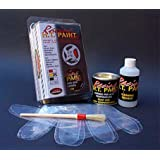 Quattroerre 16070 Vernice per Pinze Freni, Marmitte, Testate, Monoblocchi Resistente Alle Alte Temperature, Rossa
