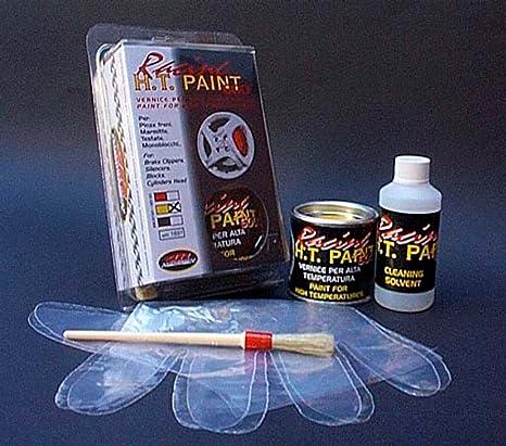 Quatroerre 16072 - Pintura para pinzas de freno, silenciadores, culatas y monobloques. Resistente