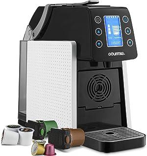 Gourmia GCM5100 One Touch Multi Capsule Coffee & Espresso Machine - Single Serve - Compatible with