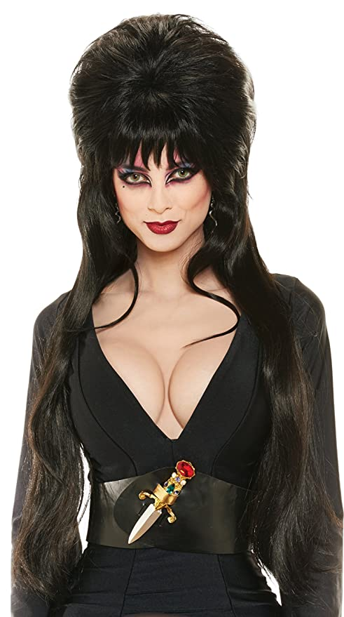 Costumes For All Occasions Ru51733 Elvira Deluxe Wig (peluca)