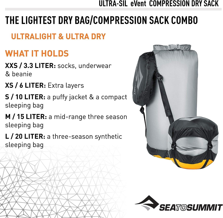 Sea To Summit Sac De Voyage Lightweight Dry Sack 1 L Black