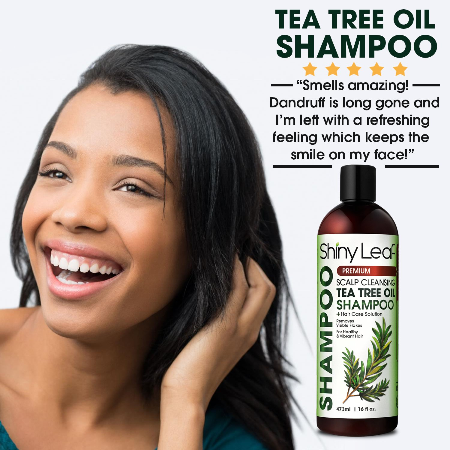 Amazon Tea Tree Shampoo With Essential Tea Tree Oil Anti