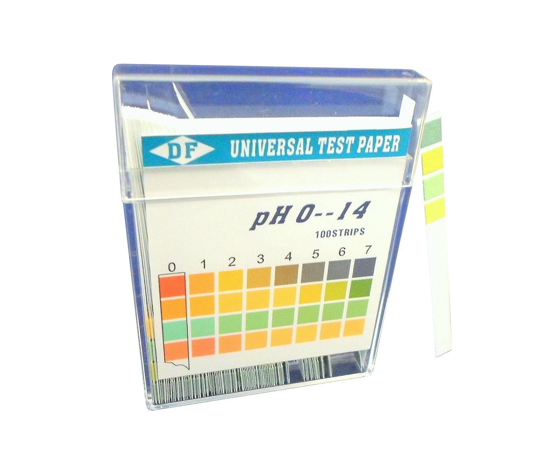 Ajax Scientific PH papier Fiole, 0/1à 14tests 0/1à 14tests LA200-0100
