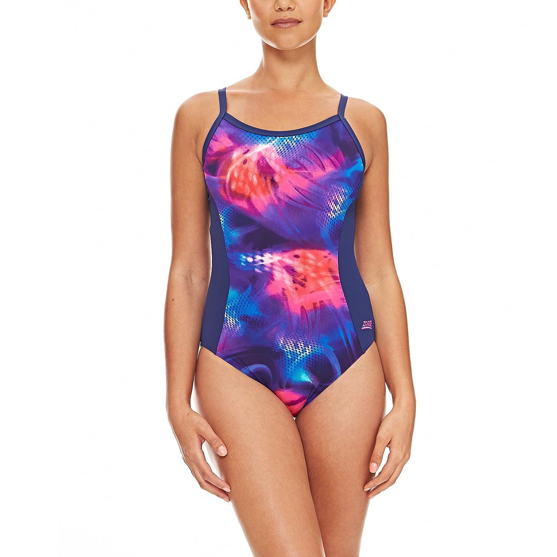 Zoggs Damen Asteroid Strikeback Bedampfungsgerät Schwimmen Anzug