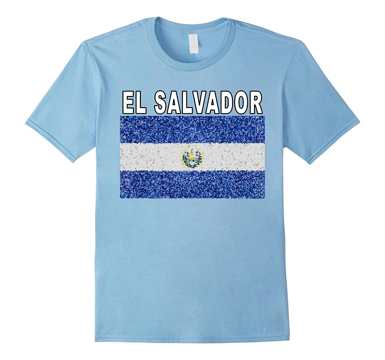 El Salvador National Pride Keepsake Flag T-shirt-FL