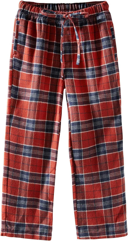 Spring/&Gege Boys Plaid Soft Lightweight 100/% Cotton Flannel Pajamas Pants