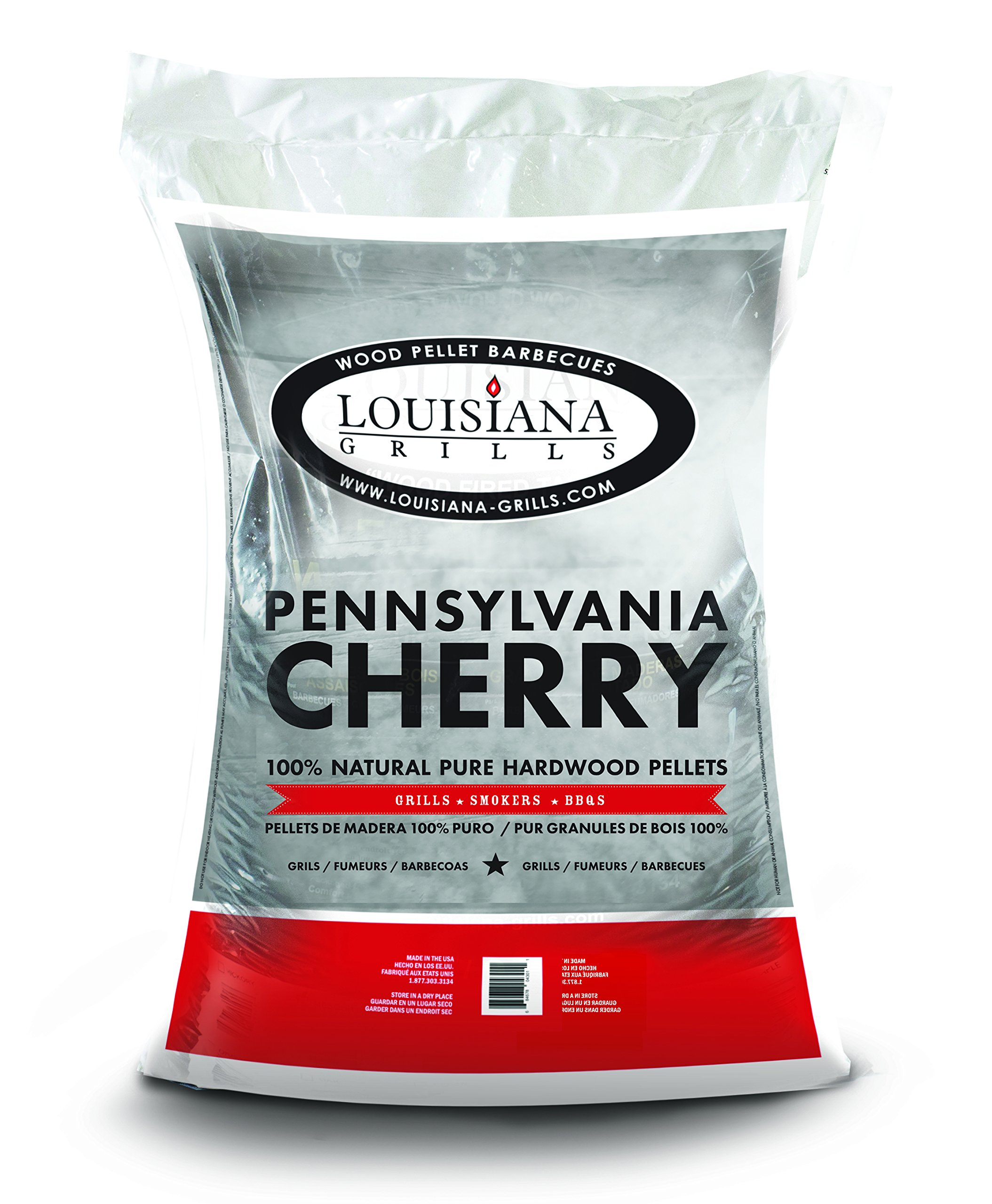 Louisiana Grills Pennsylvania Cherry 55404 Pellets, 40-Pound by Louisiana Grills